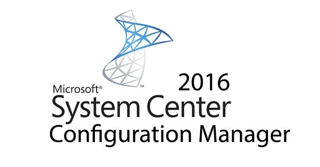 System Center Configuration Manager 2016 Kurulumu