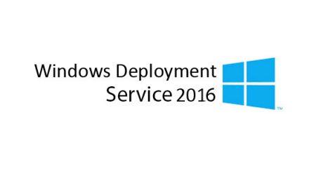 Windows Deployment Service WDS 2016 Kurulumu
