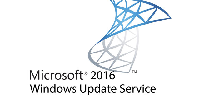Windows Update Service 2016 Kurulumu