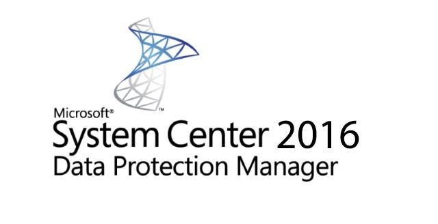 System Center Data Protection Manager 2016 Kurulumu