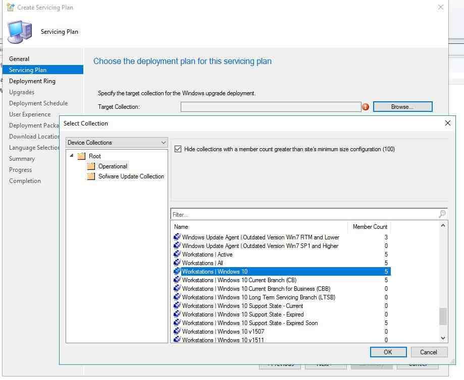 SCCM 2016 Windows 10 Servicing Plan Yapılandırma   Ender Gümen